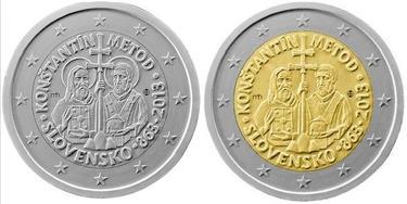 La polémica moneda, con la aureola y sin ella