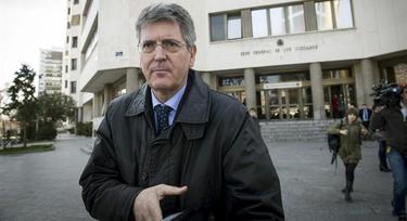 Emilio Monteagudo a su salida del juzgado | EFE