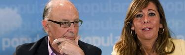 Montoro, con Camacho en la Ejecutiva del PP catalán   EFE