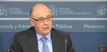 El ministro de Hacienda, Cristóbal Montoro   Archivo