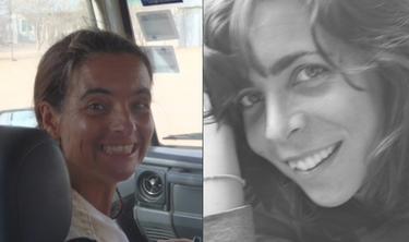 Las dos cooperantes secuestradas. | Archivo