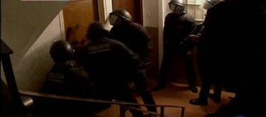 Imagen de archivo de Mossos d'Esquadra en una operación   Imagen TV