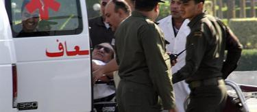 Mubarak llega al hospital donde quedará bajo arresto domiciliario | EFE