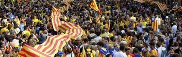 Una multitud llenaba las calles de Barcelona este miércoles | Efe