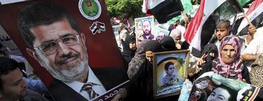 Los egipcios celebran la victoria provisional de Mursi | Efe