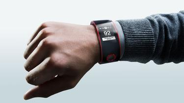 Así sería el reloj para los coches deportivos Nismo. | Nissan