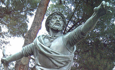 Estatua del conquistador en Madrid   Luis García / Wikipedia