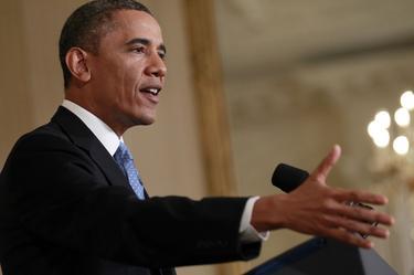 Obama en la Casa Blanca, este lunes |Cordon Press