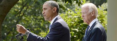 Obama y su vicepresidente, Joe Biden | Efe