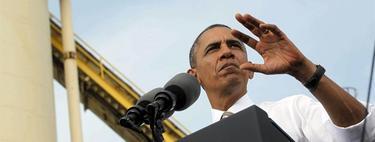 Obama este jueves en un discurso en una compañía constructora | Efe