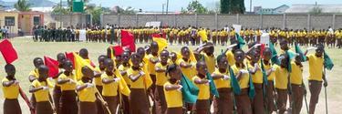 Un grupo de alumnos, en una de las escuelas de Omega, en Ghana. | Omega Schools