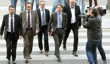 Oriol Pujol llega al TSJC | Efe