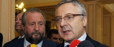 El alcalde de Lugo junto a José Blanco | Archivo