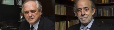 Los magistrados Luis Ignacio Ortega Álvarez y Fernando Valdés, del TC, en las imágenes de sus perfiles públicos   www.tribunalconstitucional.es