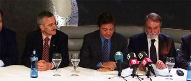 José Antonio Ortega Lara, Jorge Campos y Mayor Oreja | Círculo Balear