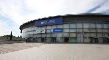 Imagen del Pabellón del Madrid Arena.