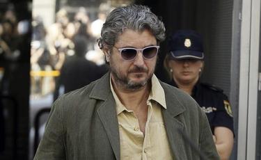 Cristóbal Páez el pasado mes de agosto tras su declaración en la Audiencia Nacional | Archivo