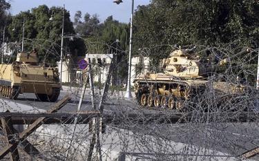 El palacio de Mursi, blindado | EFE