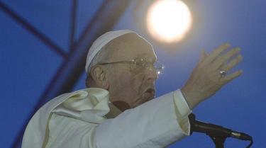 El papa Francisco, este viernes noche, en Río de Janeiro. | EFE
