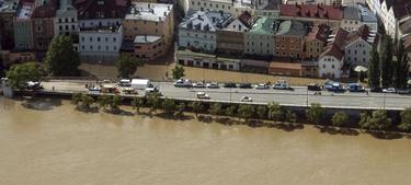 Vista aérea de la ciudad alemana de Passau | Efe
