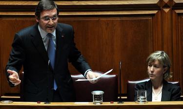 Passos Coelho, durante una sesión del Parlamento | Cordon Press