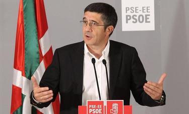Patxi López, este domingo en Bilbao  Efe