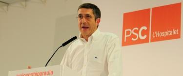 Patxi López, en un mitin en Cataluña | Cordon Press