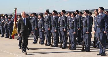 Pedro Morenés, en la inauguración del CAOC Torrejón. | Defensa