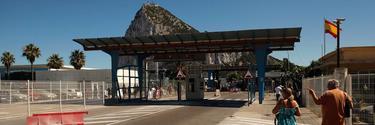 Frontera con España en Gibraltar | Cordon Press