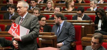 Pere Navarro, en el parlamento catalán | Archivo/EFE