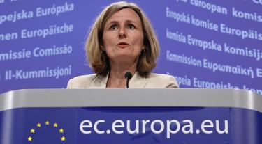 Pia Ahrenkilde, portavoz del presidente de la CE | EFE