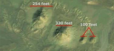 Nuevas pirámides descubiertas. | Google Earth