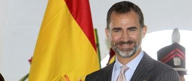 El príncipe de Asturias, este domingo, en Panamá. | EFE