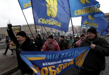Miles de personas se manifestaron el viernes a favor de la integración europea | Efe
