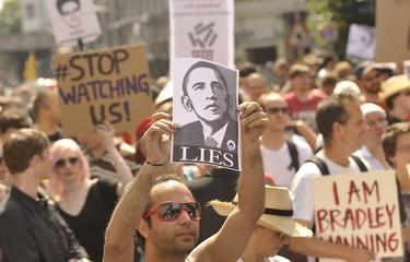 Miles de personas protestaron en Berlín contra el programa de espionaje de la NSA | Cordon Press