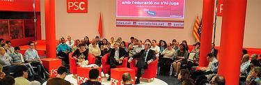 Imagen de la sala en la que se ha celebrado la reunión | Cordon Press