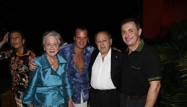 Jordi Pujol Ferrusola, a la derecha de la imagen | Archivo