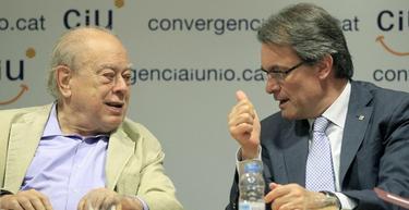 Jordi Pujol y Artur Mas, en una imagen de archivo | EFE