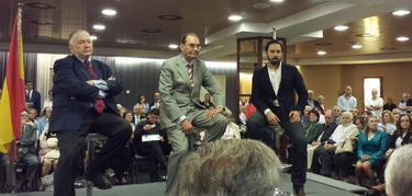 Quirós, Vidal Quadras y Santi Abascal | @clavedesole