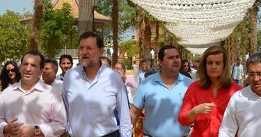 Rajoy, en el Rocio Chico | PP