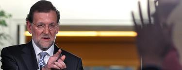 Mariano Rajoy, en una de sus últimas ruedas de prensa | EFE