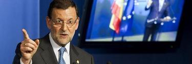 Rajoy, en el Consejo Europeo   EFE