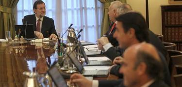 Rajoy presidiendo un Consejo de Ministros | Archivo