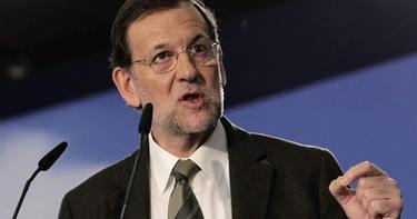Mariano Rajoy, este sábado en Cataluña   EFE