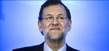 Mariano Rajoy, en una comparecencia en la sede del PP en Génova 13, en Madrid | EFE