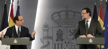 Rajoy y Hollande este miércoles en Madrid | EFE
