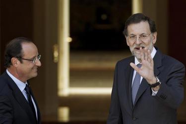 Hollande y Rajoy | Moncloa