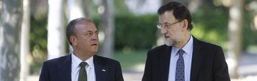 Monago y Rajoy se reunieron este martes en Moncloa | EFE