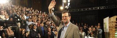 Mariano Rajoy, este domingo en Madrid | EFE