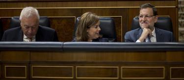 Rajoy, en una comparecencia reciente en el Congreso | Archivo
